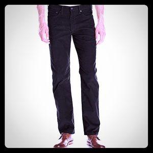 Men's Levi's 514 Straight Fit Corduroy Pants NWT